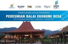 Balkondes Candi Borobudur, Implementasi BUMN Peduli